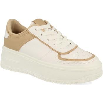 Schoenen Dames Lage sneakers Woman Key P90 Kaki