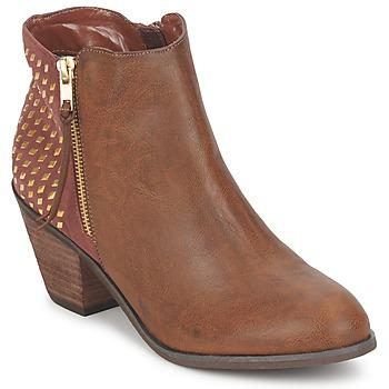 Schoenen Dames Enkellaarzen Blink MARA  CAMEL