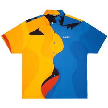 Textiel Heren Overhemden korte mouwen Jacker Color passion Multicolour