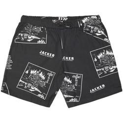 Textiel Heren Zwembroeken/ Zwemshorts Jacker Limitless Zwart