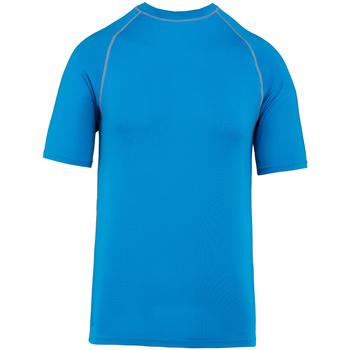 Textiel T-shirts korte mouwen Proact PA4007 Aqua