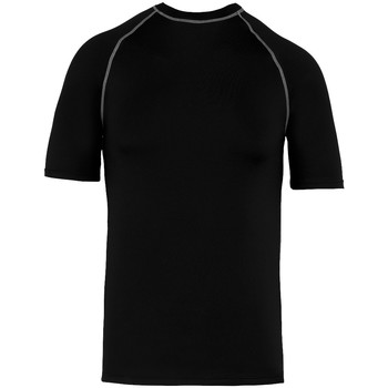 Textiel T-shirts korte mouwen Proact PA4007 Zwart