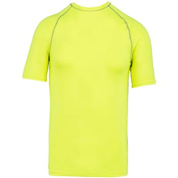 Textiel T-shirts korte mouwen Proact PA4007 Fluorescerend Geel