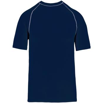 Textiel T-shirts korte mouwen Proact PA4007 Sportieve marine