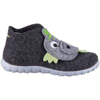 Schoenen Kinderen Laarzen Superfit Happy Noir