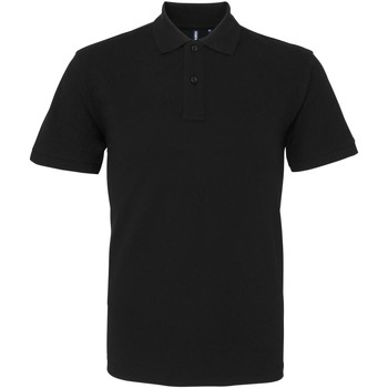 Textiel Heren Polo's korte mouwen Asquith & Fox AQ082 Zwart