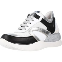 Schoenen Dames Lage sneakers Stonefly ELETTRA 23 NAPPA Wit