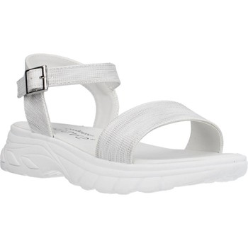 Schoenen Meisjes Sandalen / Open schoenen Conguitos LV553003 Zilver