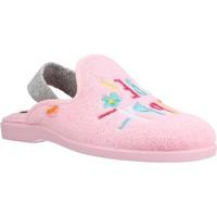 Schoenen Meisjes Sloffen Vulladi 4101 052 Roze