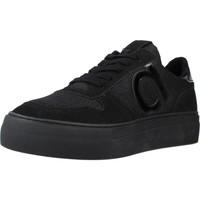 Schoenen Dames Lage sneakers Duuo RADIO HIGH 009 Zwart