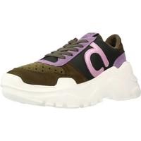 Schoenen Dames Lage sneakers Duuo TALK 017 Bruin