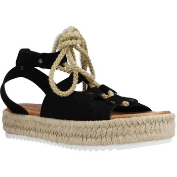 Schoenen Dames Espadrilles Porronet 2763P Zwart
