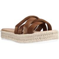 Schoenen Dames Sandalen / Open schoenen Porronet 2765P Bruin