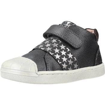 Schoenen Meisjes Hoge sneakers Garvalin 201352 Grijs