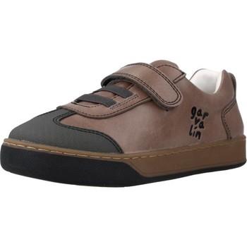 Schoenen Jongens Lage sneakers Garvalin 201450 Bruin