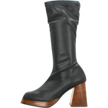 Schoenen Dames Hoge laarzen Angel Alarcon MANAGUA Zwart