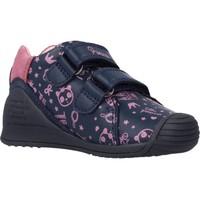 Schoenen Meisjes Enkellaarzen Biomecanics 211113 Blauw