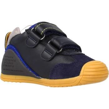 Schoenen Jongens Laarzen Biomecanics 211133 Blauw