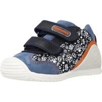 Schoenen Jongens Hoge sneakers Biomecanics 211149 Blauw