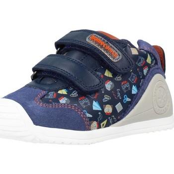 Schoenen Jongens Hoge sneakers Biomecanics 211150 Blauw