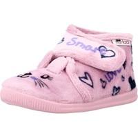 Schoenen Meisjes Sloffen Vulladi 3121 140 Roze