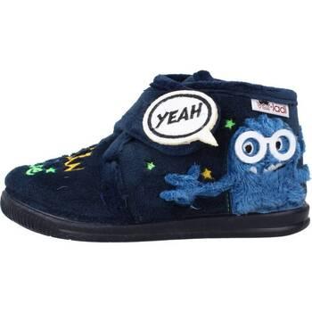 Schoenen Jongens Sloffen Vulladi 3122 140 Blauw
