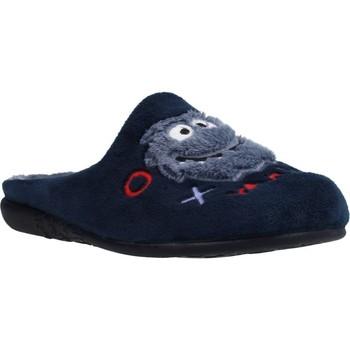 Schoenen Jongens Sloffen Vulladi 3263 140 Blauw