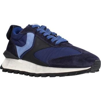 Schoenen Dames Lage sneakers Voile Blanche 111977 Blauw