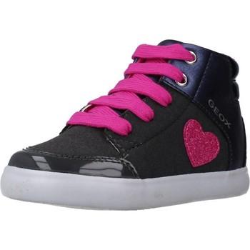 Schoenen Meisjes Laarzen Geox B GISLI GIRL Blauw