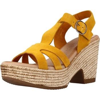 Schoenen Dames Sandalen / Open schoenen Chardi 4030CH Oranje