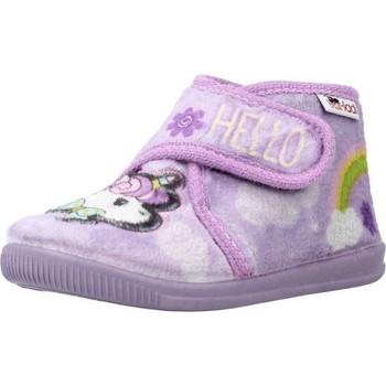 Schoenen Meisjes Sloffen Vulladi 3116 140 Violet