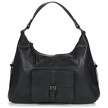 Tassen Dames Handtassen kort hengsel Moony Mood PAGELLI Zwart