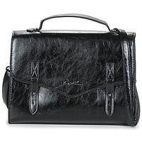 Tassen Dames Handtassen kort hengsel Moony Mood PACAGEO Zwart