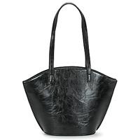Tassen Dames Handtassen lang hengsel Moony Mood PACO Zwart