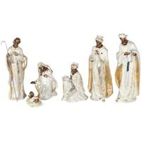 Wonen Feestelijke decoraties Signes Grimalt Geboorte 6 Stuks Set 6U Blanco