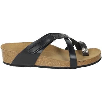 Schoenen Dames Slippers Novaflex BREGANO Black