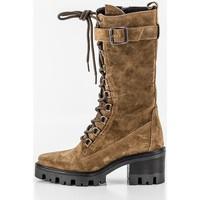 Schoenen Dames Hoge laarzen Alpe 20351101 Beige