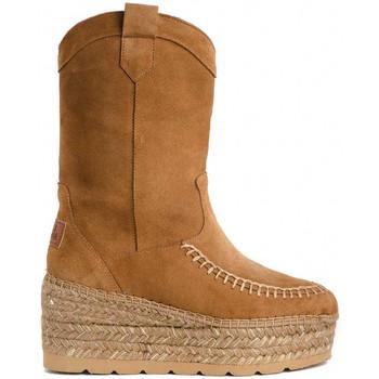 Schoenen Dames Enkellaarzen Vidorreta 98700SRRI Brown