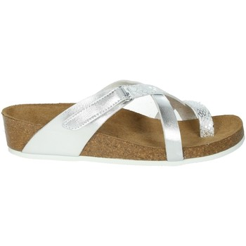 Schoenen Dames Slippers Novaflex BREGANO Silver