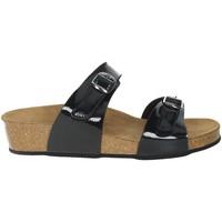 Schoenen Dames Leren slippers Novaflex BRANDIZZO Black