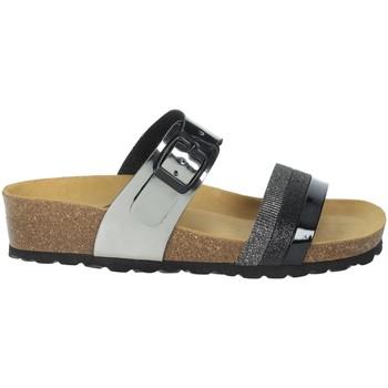 Schoenen Dames Leren slippers Novaflex BISACCIA Black