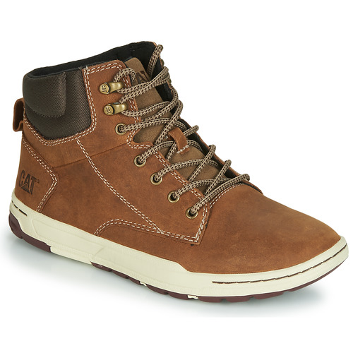 Schoenen Heren Hoge sneakers Caterpillar COLFAX MID Brown