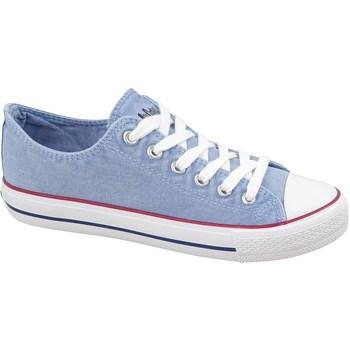 Schoenen Dames Lage sneakers Lee Cooper LCWL2031034 Bleu