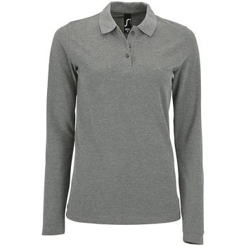 Textiel Dames T-shirts & Polo's Sols 02083 Grijze Mergel