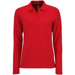 Textiel Dames T-shirts & Polo's Sols 02083 Rood