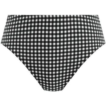 Textiel Dames Bikinibroekjes- en tops Freya Check in Zwart