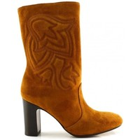Schoenen Dames Hoge laarzen Chie Mihara ERUM Brown