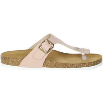 Schoenen Dames Slippers Novaflex FAVIGNANA Light dusty pink