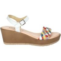 Schoenen Dames Sandalen / Open schoenen Novaflex BASTIA White/Red