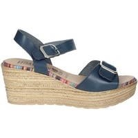 Schoenen Dames Sandalen / Open schoenen Novaflex BARBATA Blue